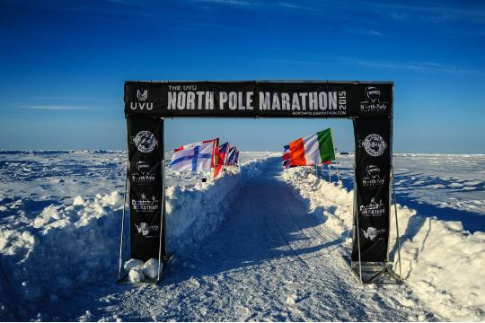Reg's North Pole Marathon