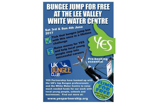 Yes Partnership 'bungee Jump'