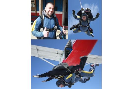 Joe's Skydive For Snowflake