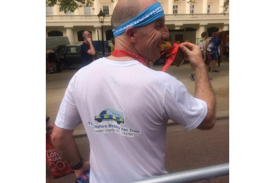 London Marathon For The Wiltshire Bobby Van Trust