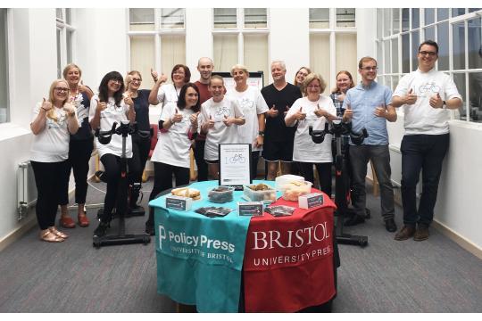 Policy Press' Bristol Refugee Rights Fundraiser