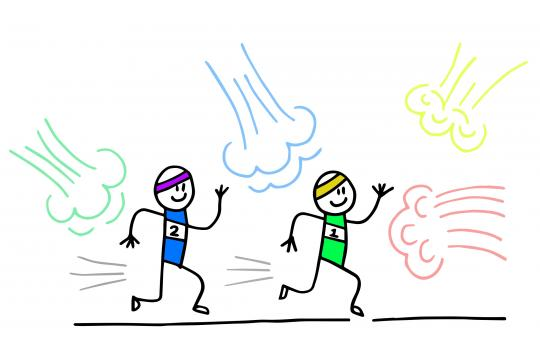Colour Run For A Creative Way Of Working