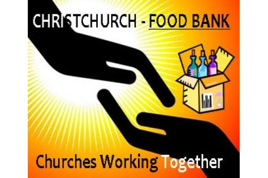 Christchurch Food Bank - Hope Out Of Crisis
