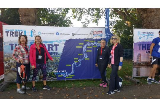 Had's Heroes Thames Bridges 23Km Trek