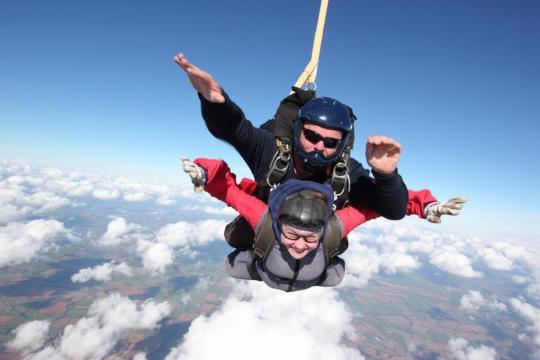 Phoebe's Skydive Challenge 2018
