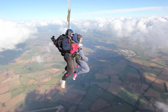 Arun's Skydive Challenge 2018