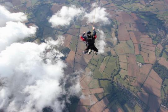 Harshiran's Skydive Challenge 2018