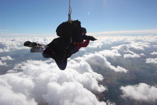 Naomi's Skydiver Challenge