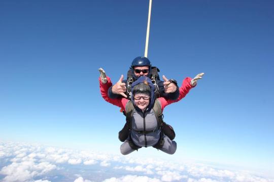 Jasmine's Skydiving Challenge 2018