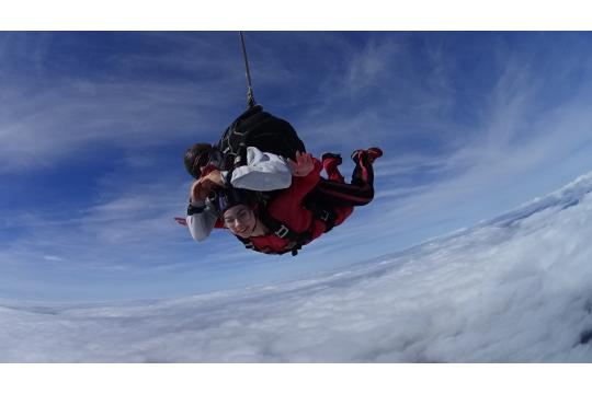 Roxanne's Skydiving Challenge 2018