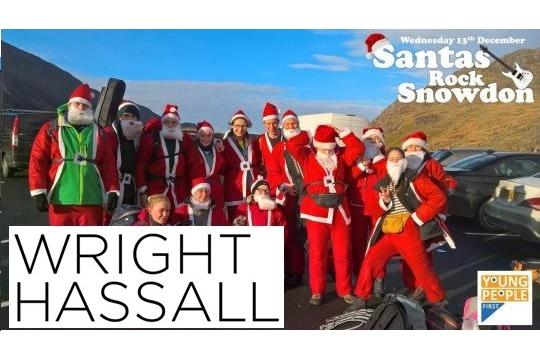 Wright Hassall Santas - Team 1