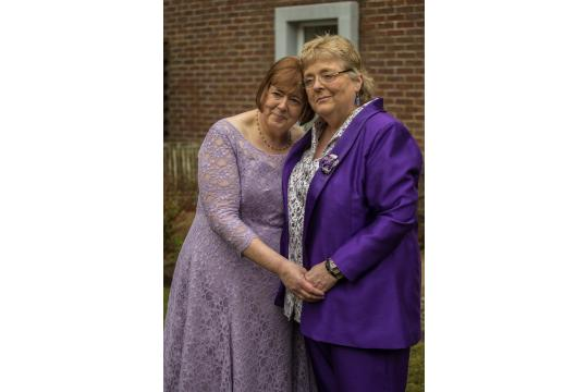 Here Come The Brides: Leigh And Helen's  Wedding