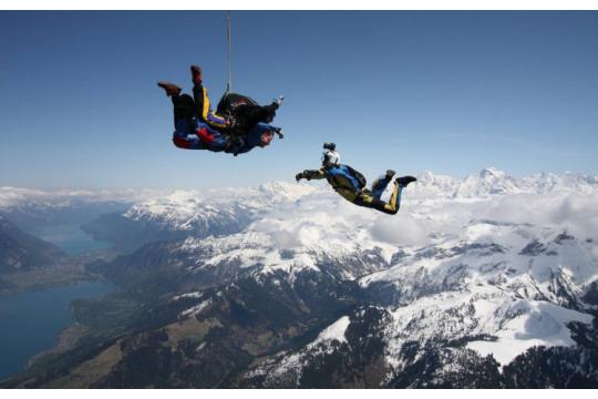 Skydiving For Young People First