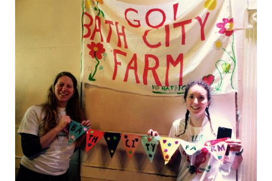 Raising £200 For Bath City Farm