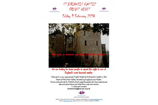 Sponsor Me To Spend The Night At A Haunted Castle!