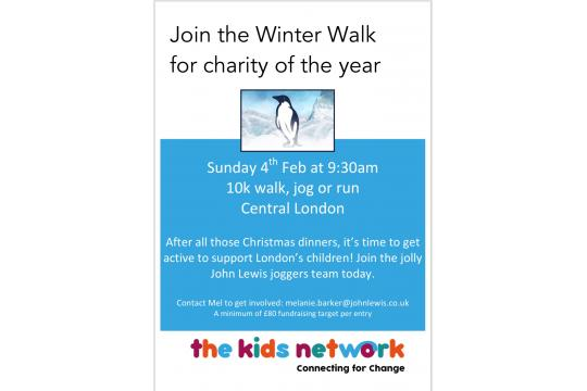 10K Winter Run For The Kids Network