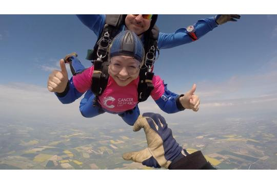 Dave Sky Dive For Tonic!