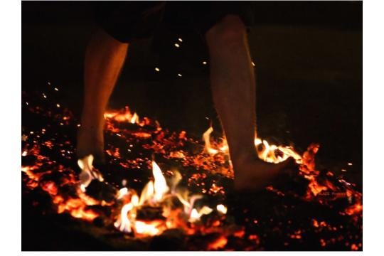 Would I Walk On Hot Coals For You......