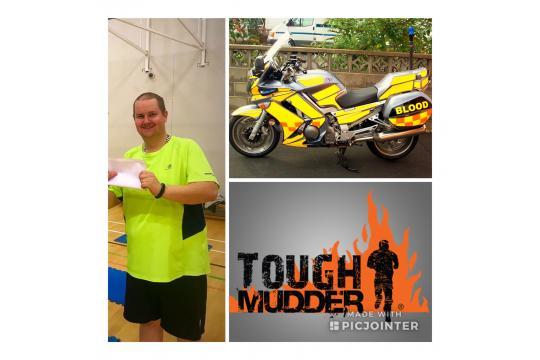 Tough Mudder For Blood Bikers