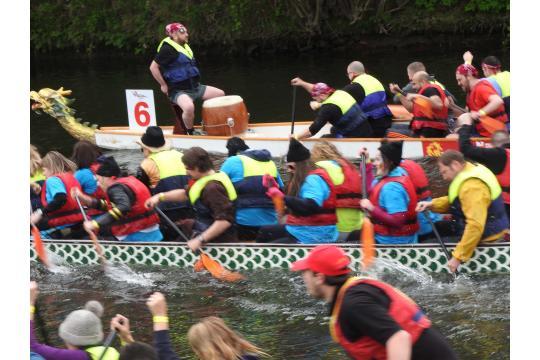 Bradford College Dragon Boat Race Teams