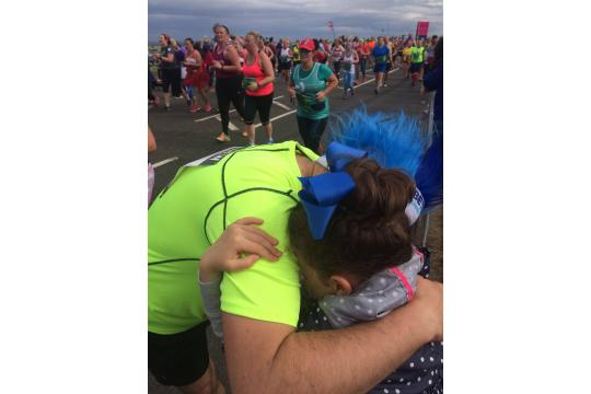 Andrew'S Great North Run 2018 For Type1Kidz