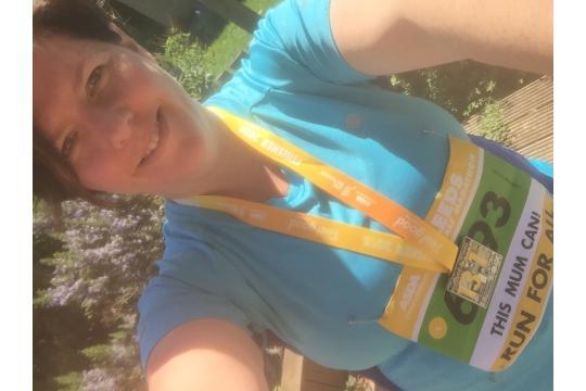 Caroline'S 13 Miles For Sunshine And Smiles