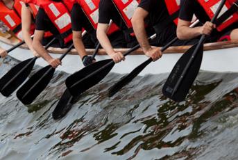 The Weardale Practice - Dragon Boat Race